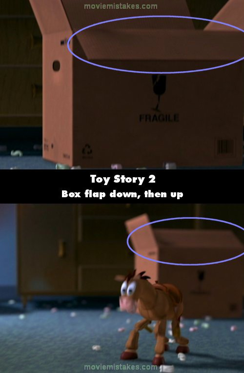 toy story 2 movie mistake picture 12