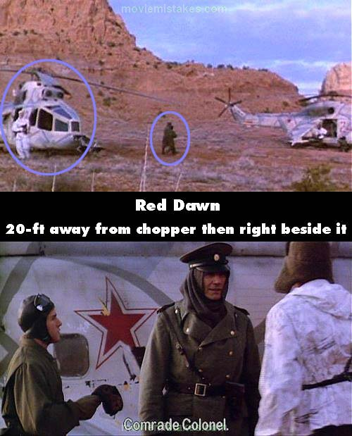 Red Dawn mistake picture