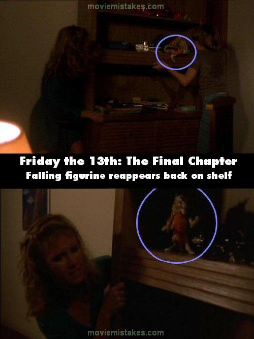 Friday the 13th: The Final Chapter mistake picture