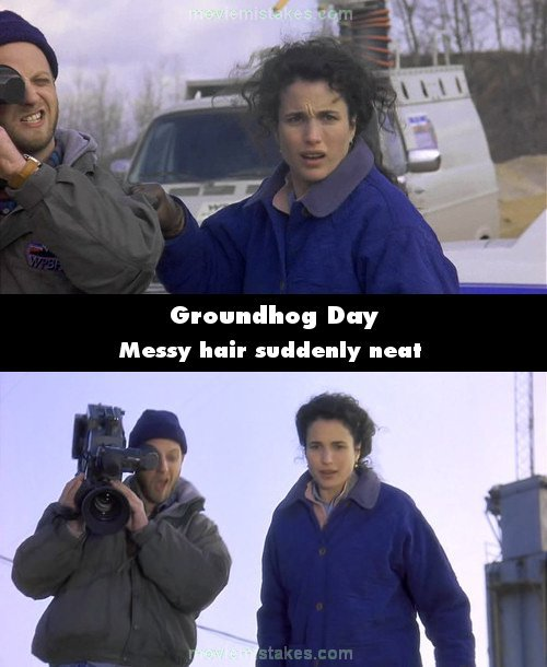 Groundhog Day Movie Quotes Alluring Groundhog Day 1993 Movie Mistake Picture Id 85094