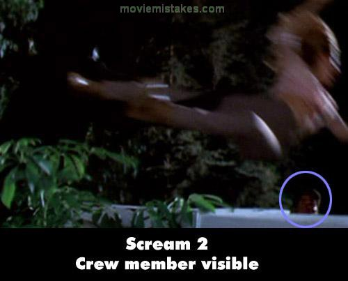 Scream 2 mistake picture