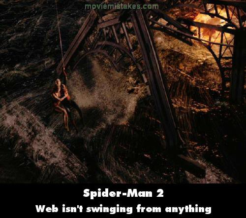 Spider-Man 2 mistake picture