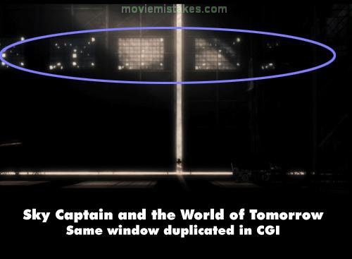 Sky Captain and the World of Tomorrow mistake picture