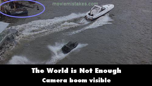 The World is Not Enough mistake picture