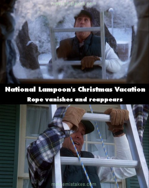 National Lampoon's Christmas Vacation Movie Mistake Picture 6
