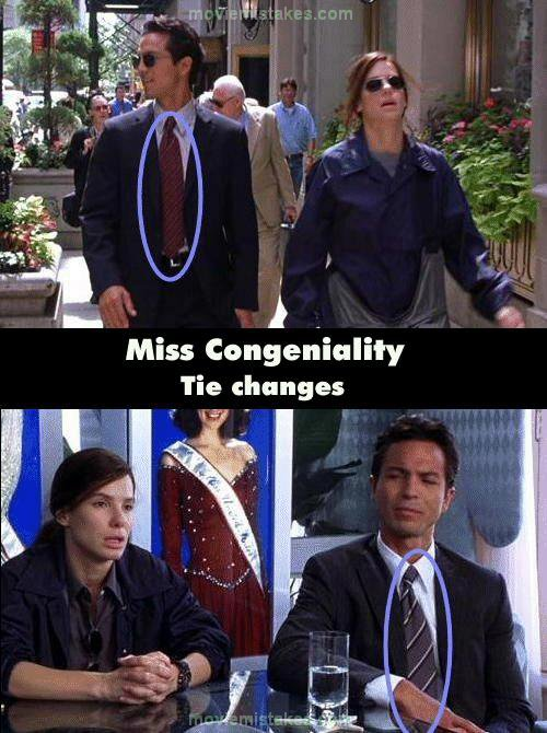 Miss Congeniality 2000 Movie Mistake Picture Id 88516
