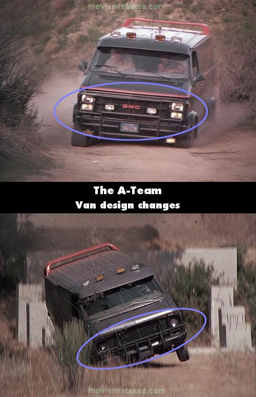 The A-Team mistake picture