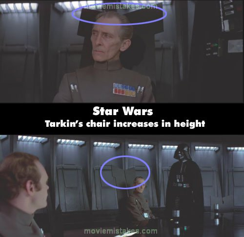 Movie Quotes Star Wars: Star Wars (1977) Movie Mistake Picture (ID 88781
