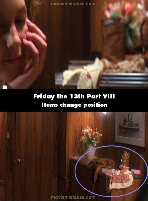 Friday the 13th Part VIII: Jason Takes Manhattan mistake picture