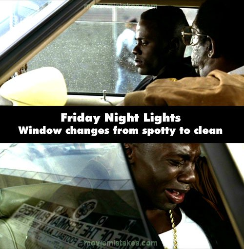 Friday Night Lights mistake picture