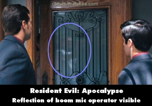 Resident Evil: Apocalypse mistake picture