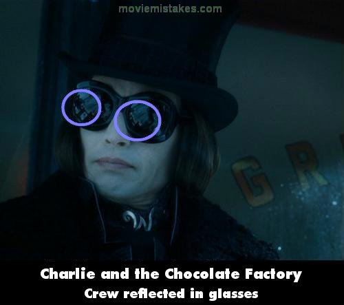 Charlie and the Chocolate Factory mistake picture