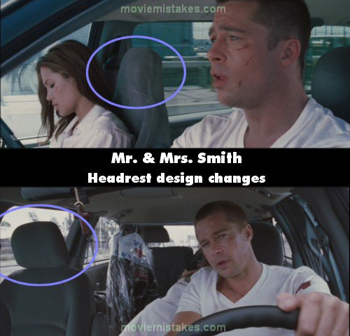 Mr. and Mrs. Smith mistake picture