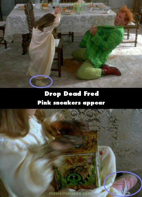 Drop Dead Fred mistake picture