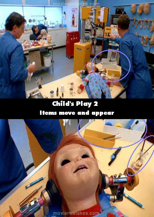 Child's Play 2 mistake picture