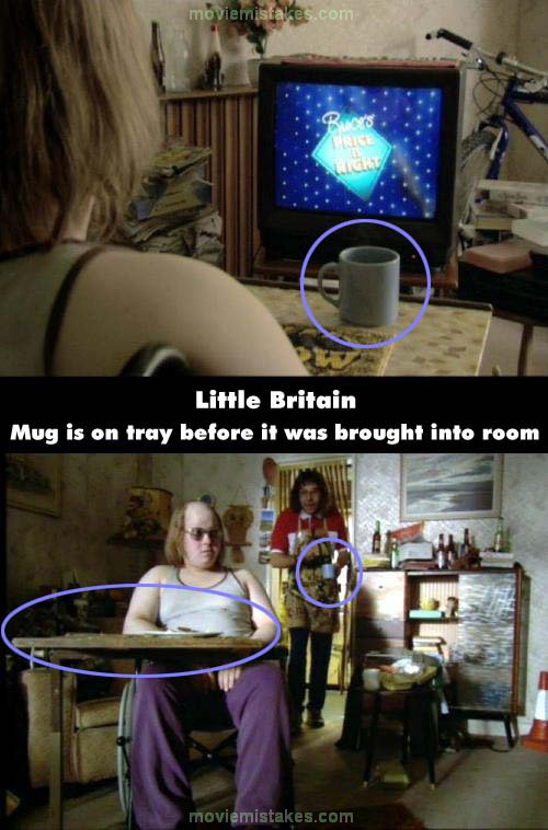 Little Britain mistake picture
