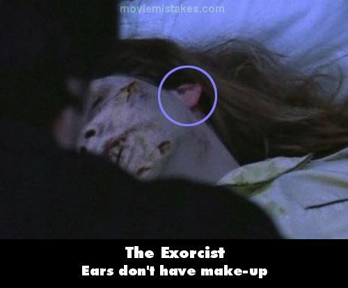The Exorcist mistake picture