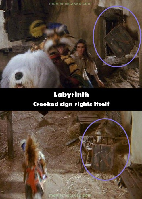 Labyrinth mistake picture