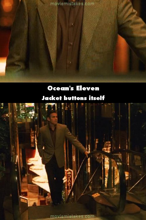 Ocean's Eleven mistake picture
