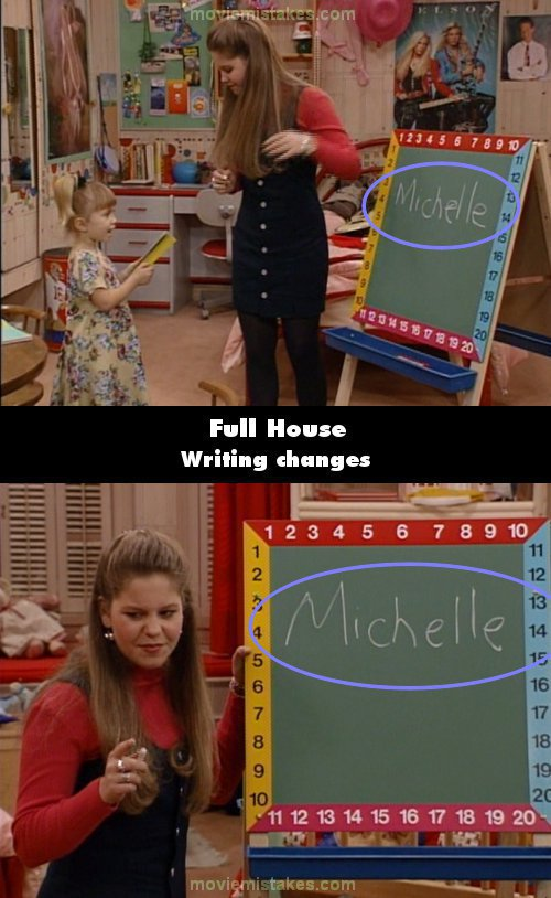 Full House mistake picture