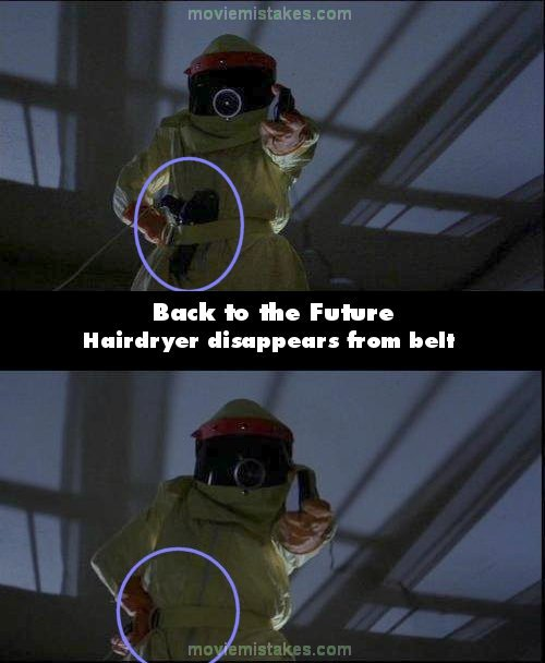 Back to the Future movie mistake picture 4