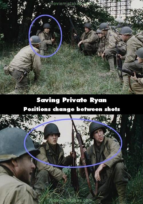 Saving Private Ryan mistake picture