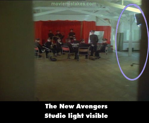 The New Avengers mistake picture