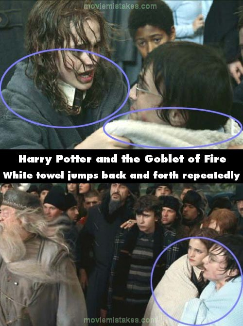 Harry Potter And The Goblet Of Fire Movie Mistake Picture 6