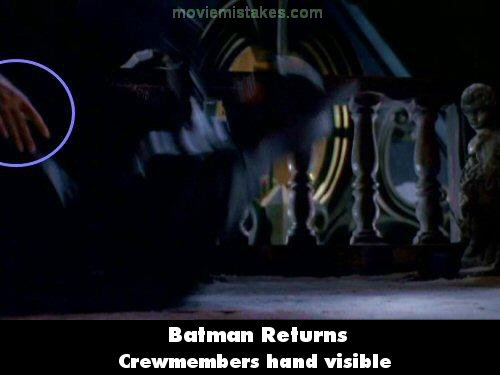 Batman Returns mistake picture