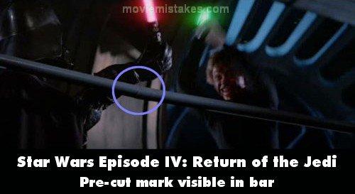 Star Wars Episode Vi Return Of The Jedi 1983 Movie Mistake Picture Id 9821