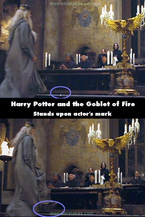 Harry Potter And The Goblet Of Fire (2005) Movie Mistake