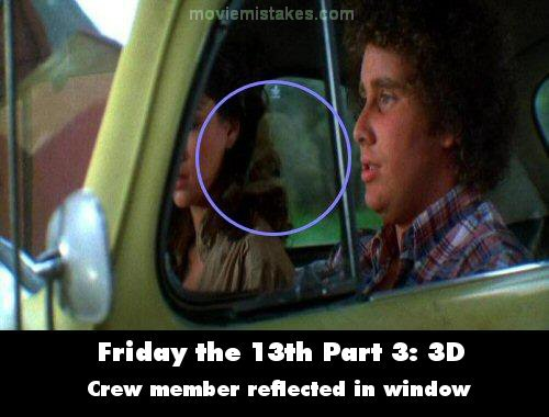 friday the 13th part 3 3d 1982 movie mistake picture