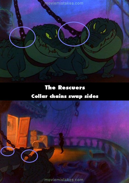 The Rescuers 1977 Movie Mistakes Goofs And Bloopers