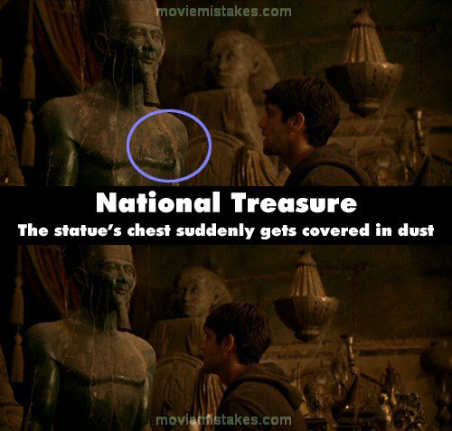 National Treasure 2004 Movie Mistake Picture Id 99983
