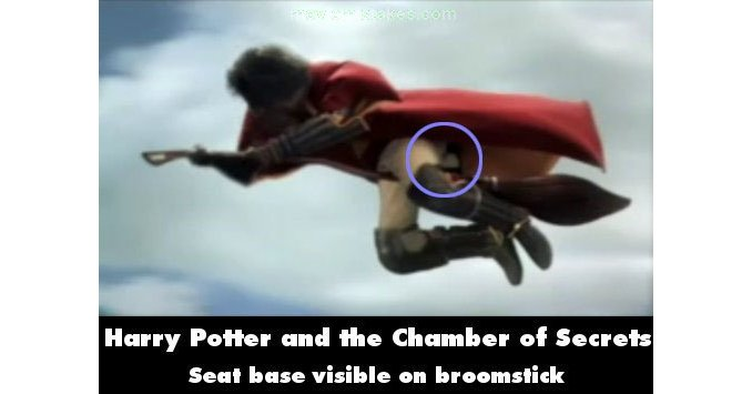Harry Potter Cameraman : Harry potter and the chamber of secrets 2002 movie mistake picture