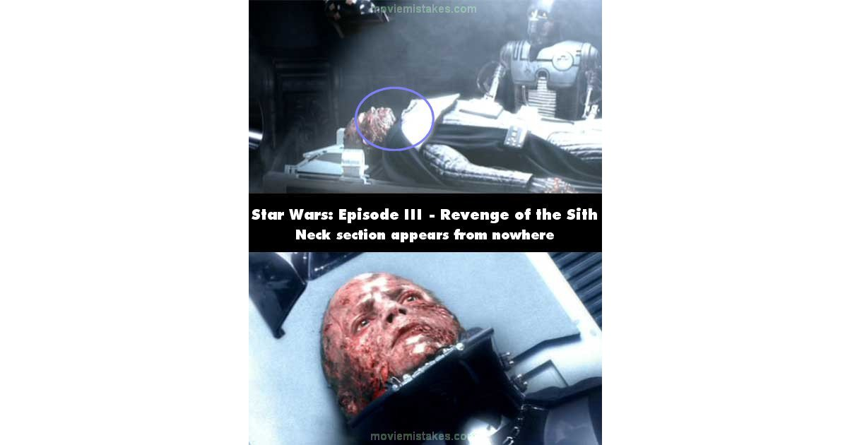 Star Wars Episode Iii Revenge Of The Sith 2005 Movie Mistake Picture Id 86708