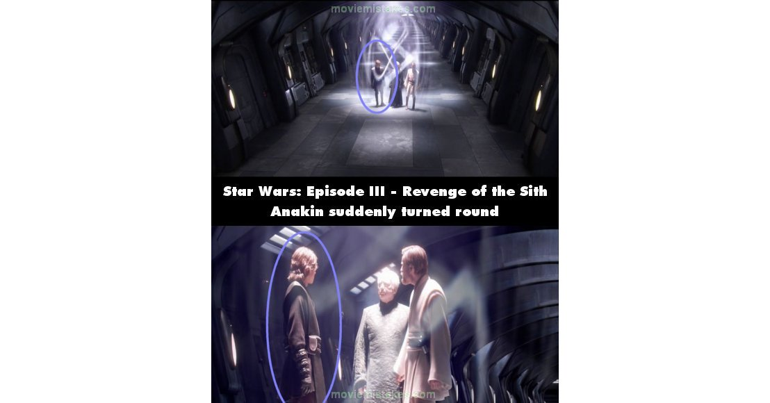 Star Wars Episode Iii Revenge Of The Sith 2005 Movie Mistake Picture Id 98124