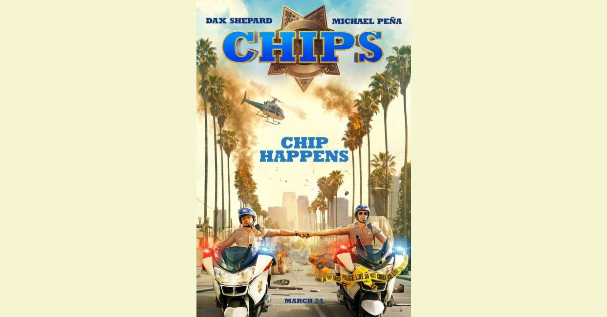 CHIPS (2017) - mistakes, quotes, trivia, questions and more