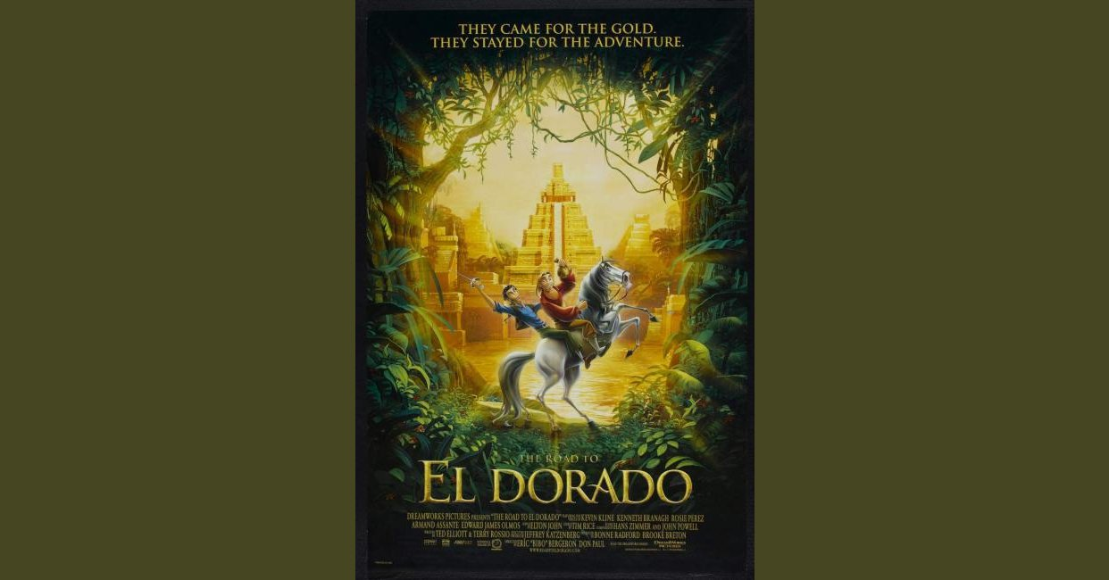 The Road To El Dorado 2000 Questions And Answers