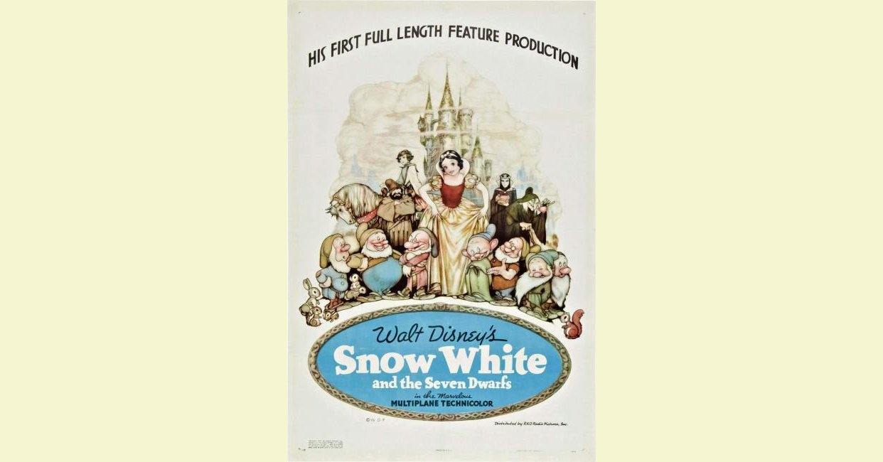Snow White And The Seven Dwarfs 1937 Mistakes