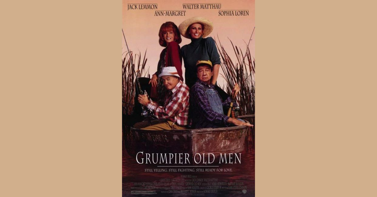 Grumpy Old Men Outtakes Quotes: Grumpier Old Men (1995) Movie Mistakes, Goofs And Bloopers