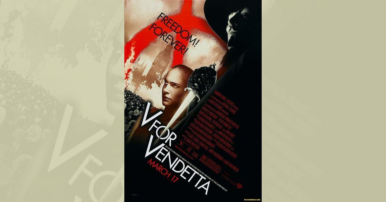 v for vendetta movie synopsis