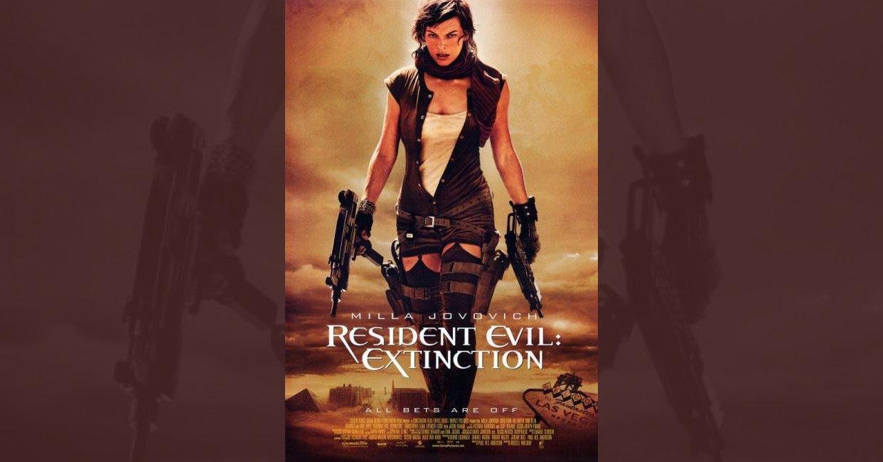 Resident Evil Extinction 2007 Mistakes