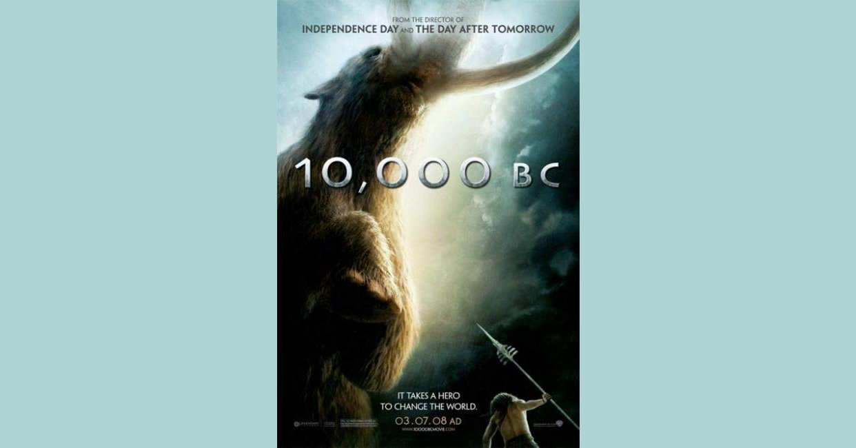 10,000 B C  (2008) movie mistakes, goofs and bloopers