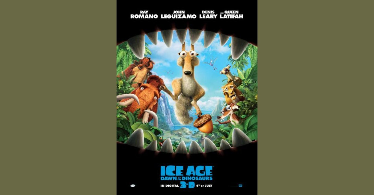 Ice Age Dawn Of The Dinosaurs 2009 Mistakes
