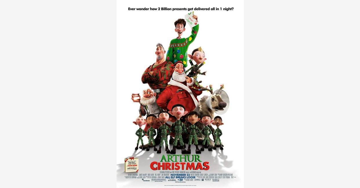 Arthur Christmas (2011) movie mistakes, goofs and bloopers