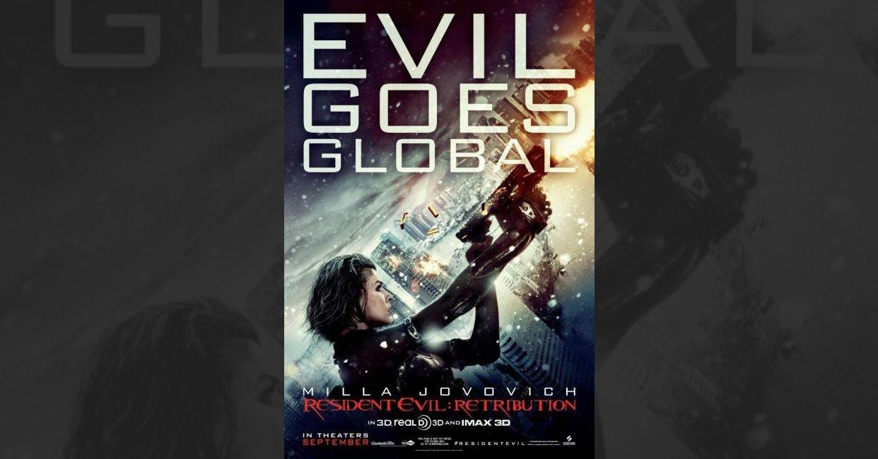 Resident Evil Retribution 2012 Mistakes